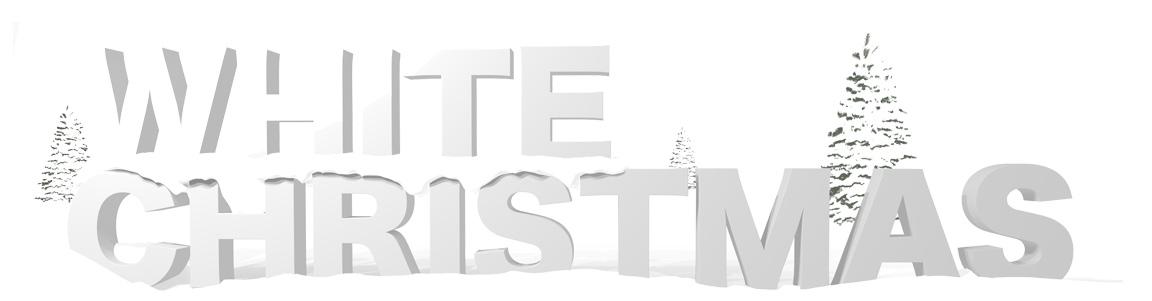 white christmas image