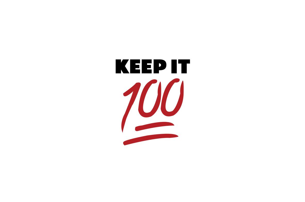 keep it 100 sermon series