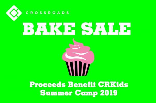 CRKids Bake Sale